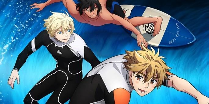 56 Estrenos anime otoño - Wave!! Surfing Yappe!!