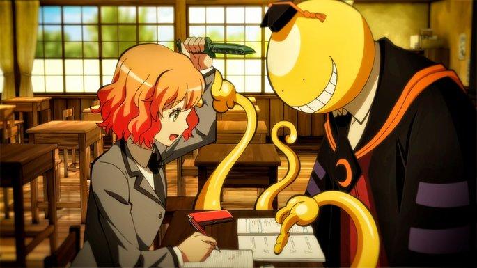 56 - Mejores anime de la historia - Assassination Classroom