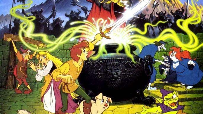 56 Mejores Peliculas Disney -  Taron y el caldero mágico