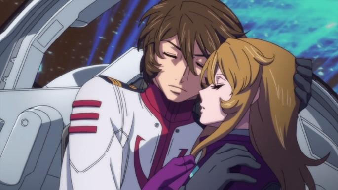 57 Anime estrenos invierno - Uchuu Senkan Yamato 2205 Aratanaru Tabidachi