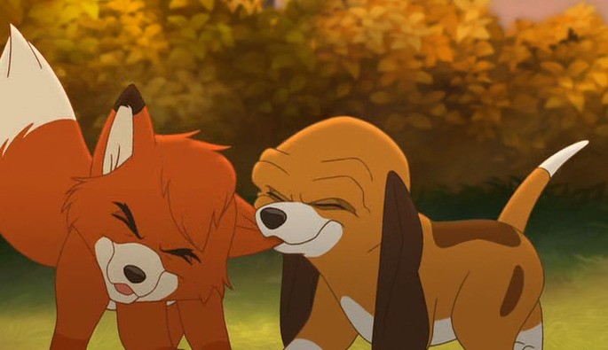57 Mejores Peliculas Disney - El zorro y el sabueso