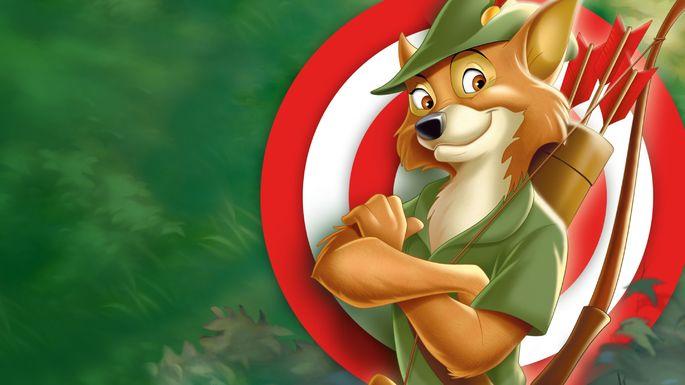 58 Mejores Peliculas Disney -  Robin Hood
