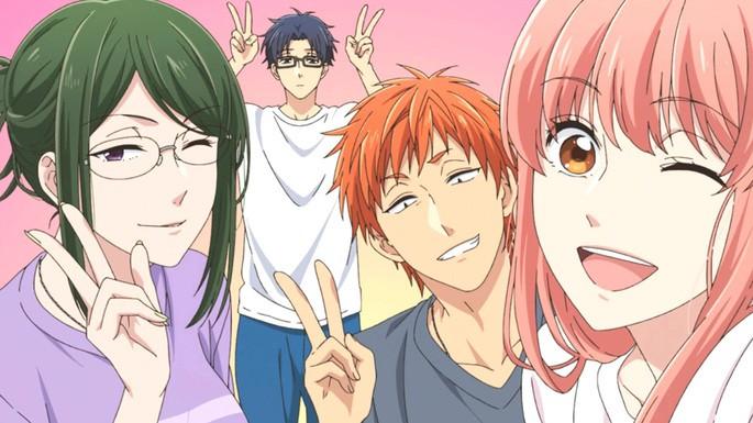 59 - Mejores anime de la historia - Wotakoi Love is Hard for Otaku