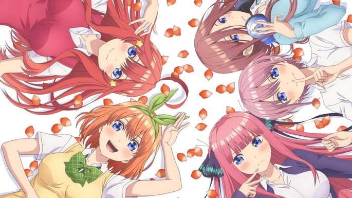 6 Anime estrenos invierno - 5-toubun no Hanayome ∬
