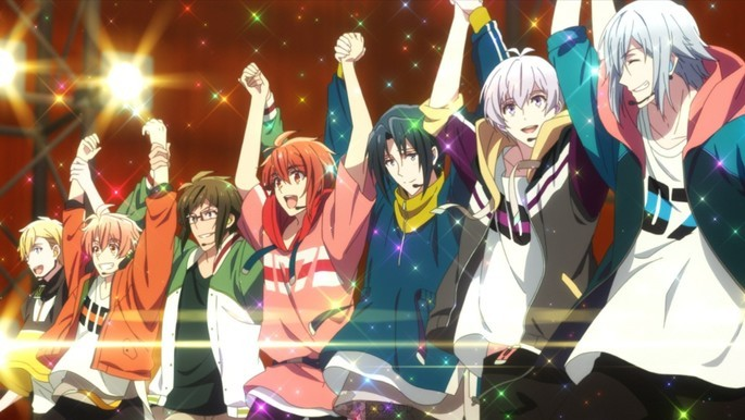 6 - Anime estrenos verano - IDOLiSH7 Third Beat!