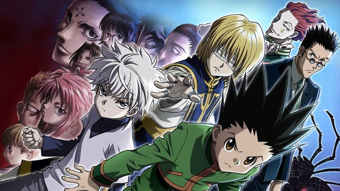 6 Animes accion - Hunter x Hunter