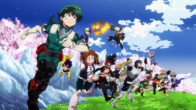 6 - Animes interesantes - My hero Academia