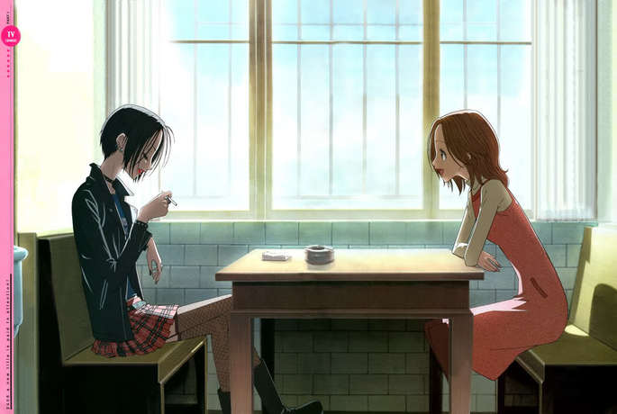 6 - Los mejores anime de romance - NANA