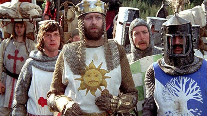 6- Monty Python and the Holy Grail