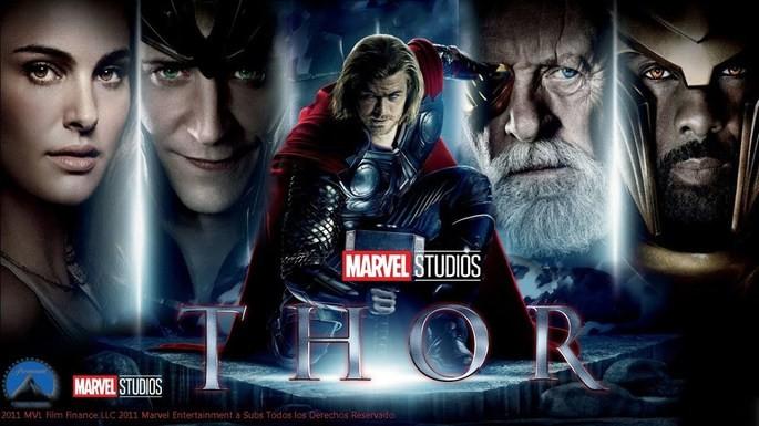 6 - Orden cronológico películas de Marvel - Thor