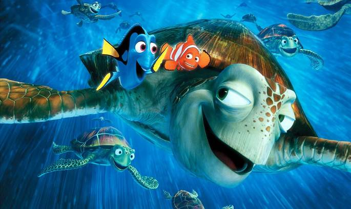 6 - Películas de Pixar - Buscando a Nemo