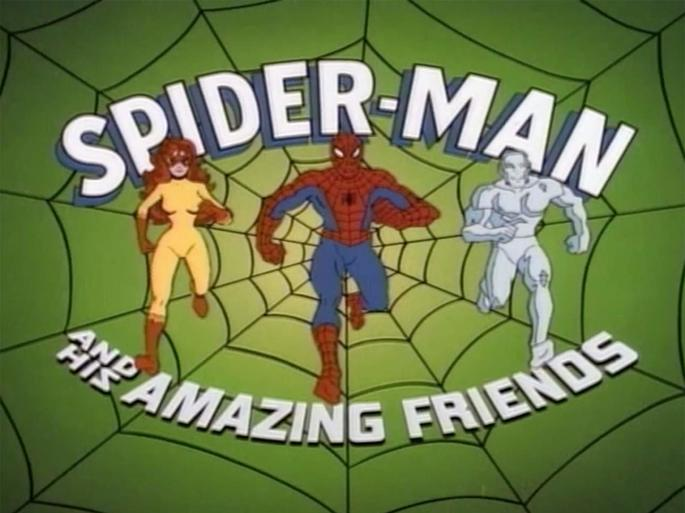 6 - Spiderman and his amazing friends