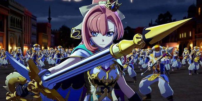 60 Estrenos anime otoño - Monster Strike the Movie Lucifer - Zetsubou no Yoake