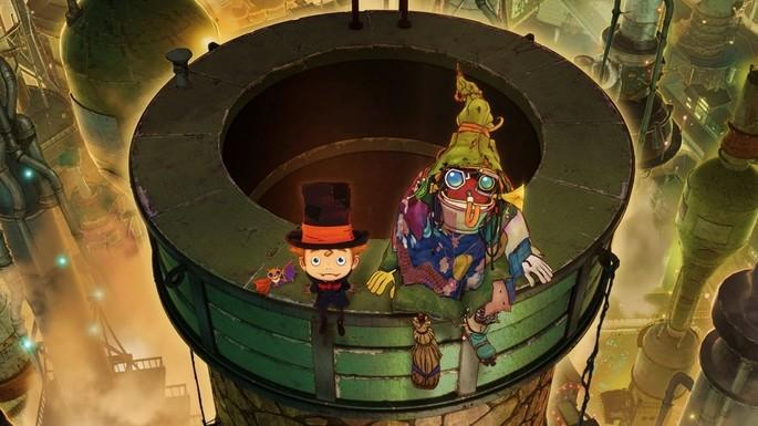 61 Estrenos anime otoño - Entotsu Machi no Poupelle