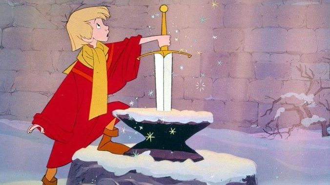 62 Mejores Peliculas Disney - La Espada en la Piedra