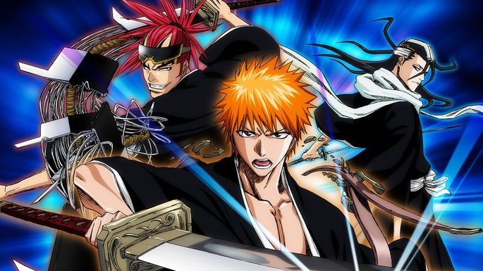 7 Animes accion - Bleach