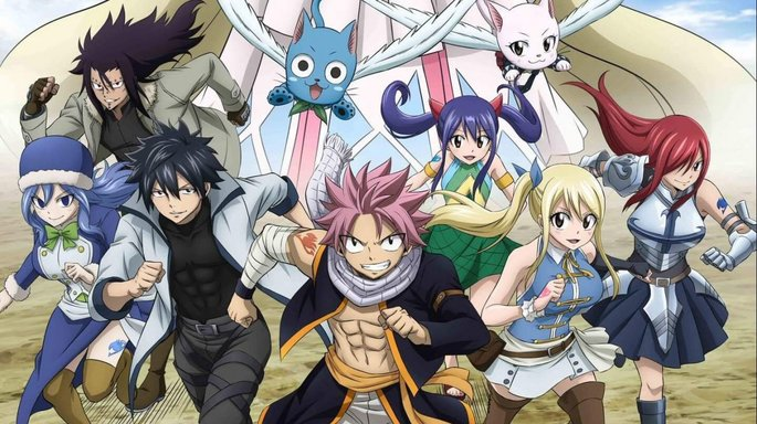 7 Fairy Tail Anime Netflix