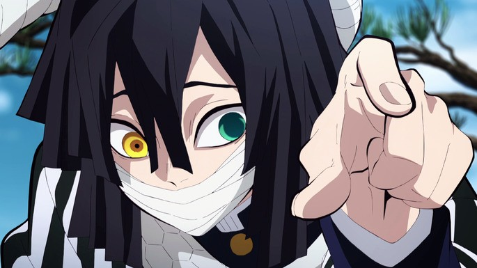 7 - Kimetsu No Yaiba - Personajes - Obanai Iguro