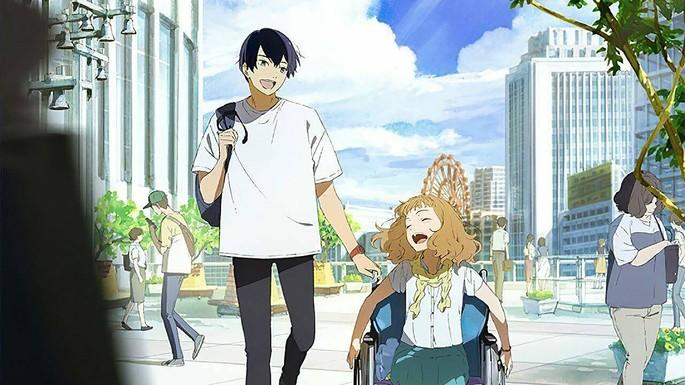 7 - Las mejores películas de anime - Josee, el tigre y los peces