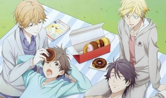 7 - Los mejores anime yaoi - Hitorijime My Hero