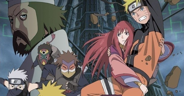 7 - Naruto películas - Naruto Shippūden La torre perdida