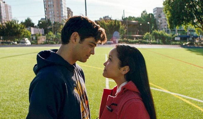 7 - Netflix Películas Románticas - A todos los chicos de los que me enamoré