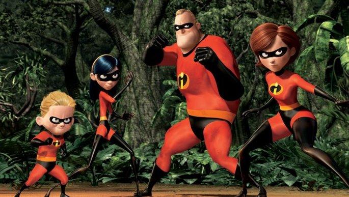 7 - Películas de Pixar - Los Increíbles