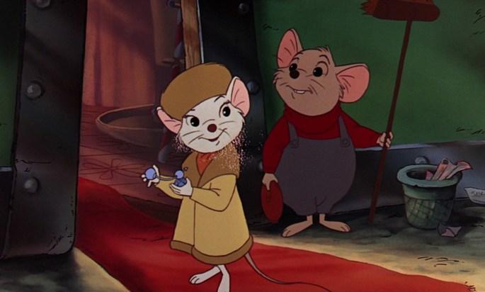 72 Peliculas animadas - Bernardo y Bianca