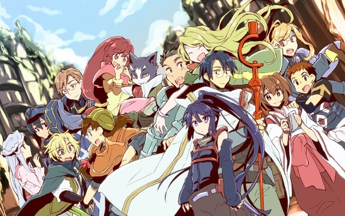 8 Anime estrenos invierno - Log Horizon Entaku Houkai