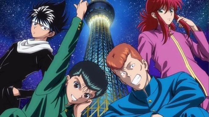 8 Animes accion - Yuu☆Yuu☆Hakusho