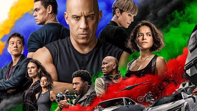 8 - Películas de acción - F9 The Fast Saga