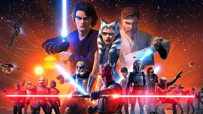 8 Star Wars Orden Cronologico con Series