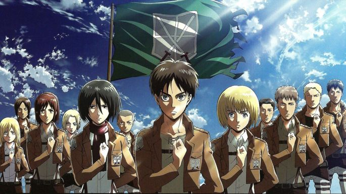 9 - Animes interesantes - Shingeki no kyojin