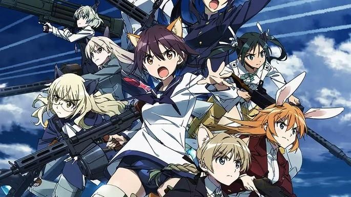 9 Estrenos anime otoño - Strike Witches Road to Berlin
