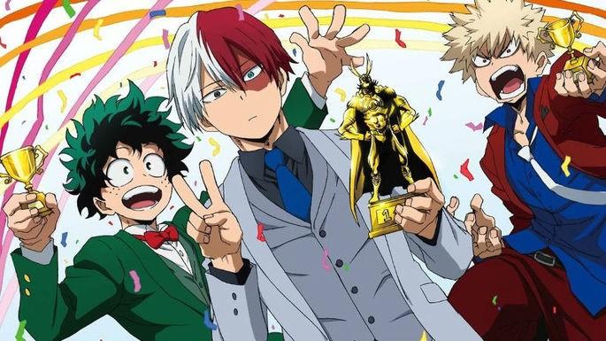 9 - Mejores anime de la historia - Boku No Hero Academia