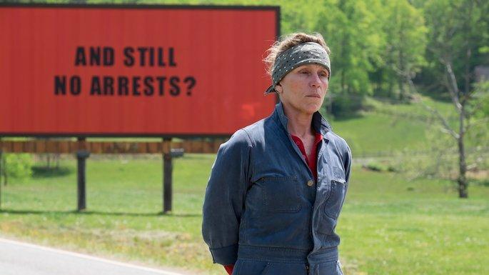 9 Peliculas basadas en hechos reales - Three Billboards Outside Ebbing, Missouri