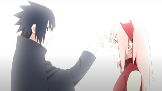 9 Sasuke Sakura gesto