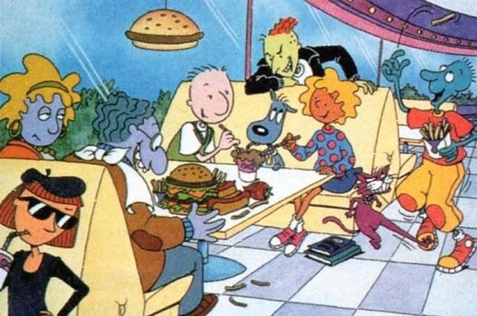 9 - Series de los 90 - Doug