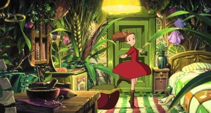 Arrietty Películas Ghibli Netflix