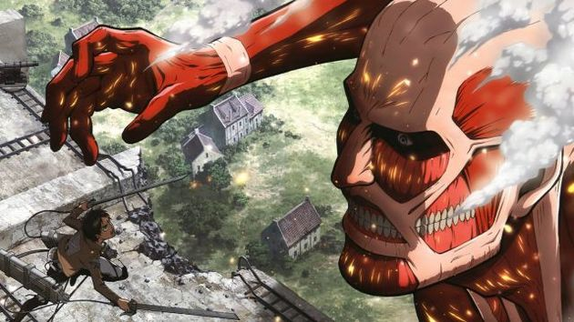 colosal titan eren