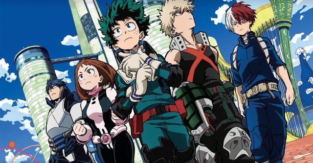 Boku No Hero Academia Mejores Animes Shounen