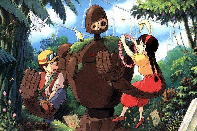 Castillo en el cielo Peliculas Anime