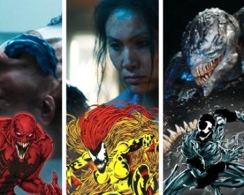 Descubre todos los simbiontes que aparecen en la película de Venom