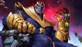 ¡Conoce al poderoso y terrible Thanos, el Titán Loco!
