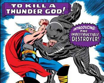 La furia imparable del Destructor, la armadura encantada capaz de derrotar a Thor
