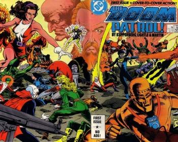 Doom Patrol, el grupo de superhéroes más extraños del Universo DC