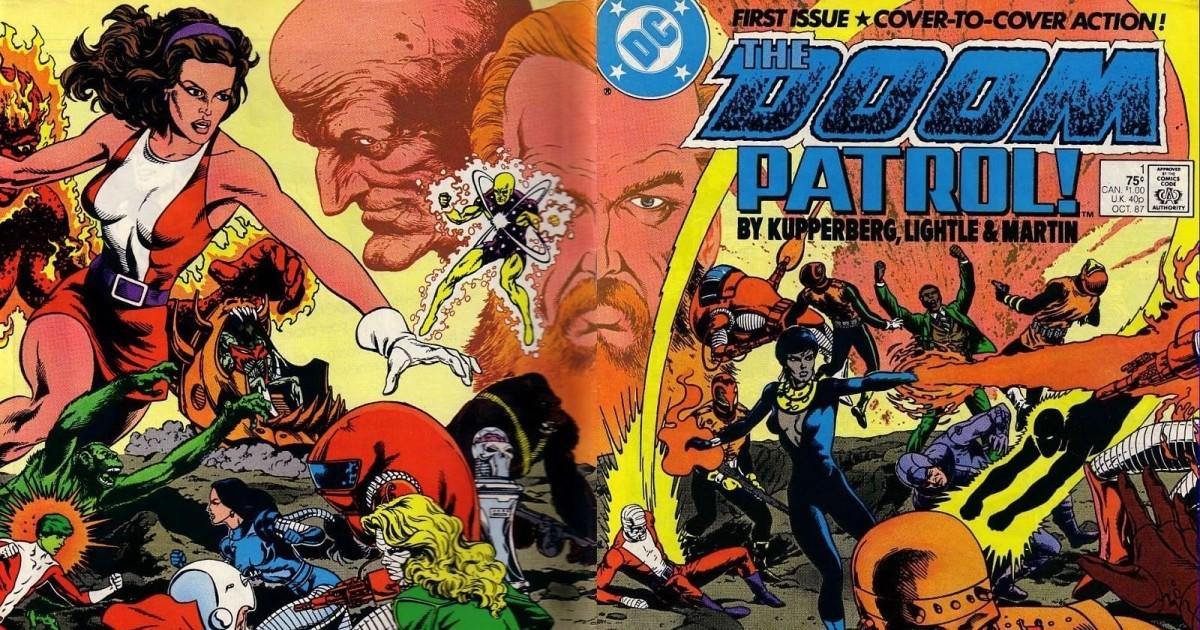 Doom Patrol El Grupo De Superheroes Mas Extranos Del Universo Dc