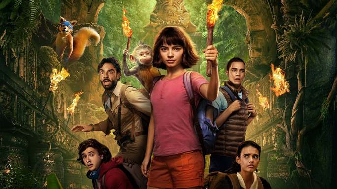 Dora and the Lost City of Gold Películas Infantiles