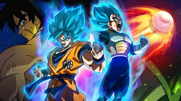Dragon Ball Super: Broly Películas Infantiles