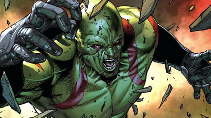 Drax el destructor guardianes de la galaxia